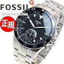 フォッシル FOSSIL ハイブリッド スマートウォッチ ウェアラブル Q CREWMASTER Qクルーマスター 腕時計 メンズ/レディース FTW1126【正規品】【サイズ調整無料】