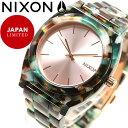 ニクソン NIXON タイムテラー アセテート TIME TELLER ACETATE 日本限定モデル 腕時計 レディース ローズゴールド/マルチ NA3272943-00