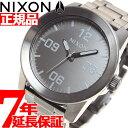 ニクソン NIXON コーポラルSS CORPORAL SS 腕時計 メンズ オールガンメタル/グレイ NA346602-00