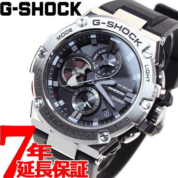 G-SHOCK G-STEEL カシオ Gショック Gスチール CASIO ソーラー 腕時計 メンズ タフソーラー GST-B100-1AJF