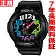 BABY-G カシオ ベビーG ネオンダイアル 腕時計 レディース ブラック アナデジ BGA-131-1B2JF【正規品】【7年長期無料保証】