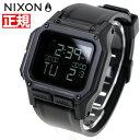 ニクソン NIXON レグルス REGULUS 腕時計 メンズ ALL BLAC...