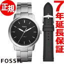 フォッシル FOSSIL 腕時計 メンズ ミニマリスト THE MINIMALIST 3H FS5451SET【2018 新作】