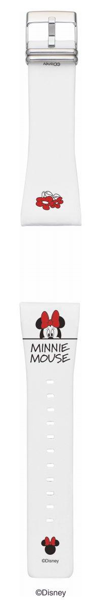本日ポイント最大28倍!26日1時59分まで!EPSON smart canvas ディズニー Mickey & Friends Minnie Mouse 替えバンド メンズ レディース W1BDY30420【2018 新作】