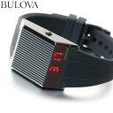 ブローバ BULOVA 腕時計 メンズ LEDデジタルクオーツ アーカイブシリーズ コンピュートロン...