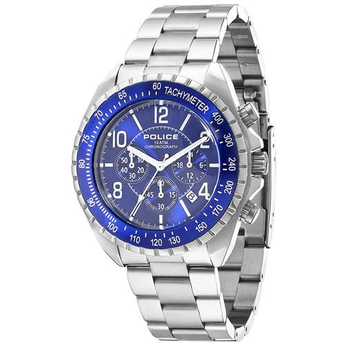 ポリス POLICE 腕時計 メンズ ニューネイビー NEW NAVY クロノグラフ 12545JS-03M [正規品][送料無料][ラッピング無料][サイズ調整無料]