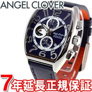 エンジェルクローバー Angel Clover 腕時計 メンズ ダブルプレイ Double Play クロノグラフ DP38SNV-NV【あす楽対応】【即納可】【正規品】【7年延長正規保証】