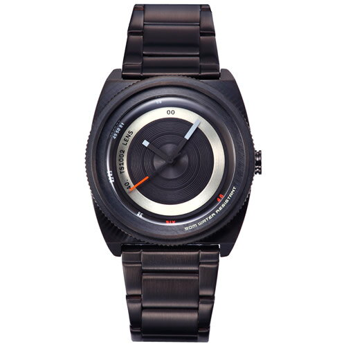 TACS タックス 腕時計 LENS-M レンズ ブラック TS1002B [正規品][送料無料][ラッピング無料][サイズ調整無料]