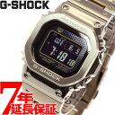 【最大5000円OFFクーポン&店内ポイント最大34.5倍!】カシオ Gショック CASIO G-SHOCK タフソーラー 電波時計 デジタル 腕時計 メンズ フルメタル ゴールド GMW-B5000GD-9JF