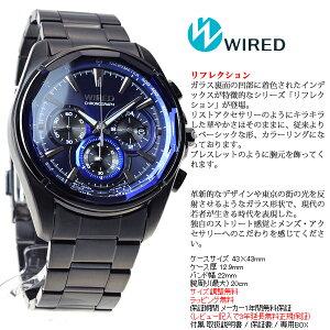 セイコーワイアードSEIKOWIRED腕時計メンズREFLECTIONリフレクションクロノグラフAGAV102