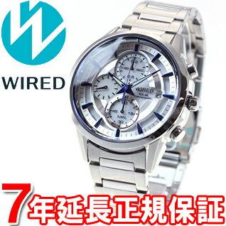 セイコー ワイアード SEIKO WIRED ソーラー 腕時計 メンズ アポロ APOLLO クロノグラフ AGAD061 [正規品][送料無料][7年延長正規保証][ラッピング無料][サイズ調整無料]