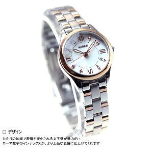 セイコーワイアードエフSEIKOWIREDf腕時計レディースペアスタイルPAIRSTYLEAGEK422