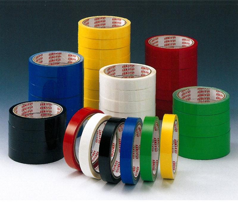 【積水化学工業】 セキスイ セロテープ ベタ 15mm×35m (黄・緑・青・赤・白・黒) 200巻入り