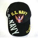 自衛隊グッズ 帽子 U.S NAVY ブラック