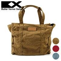 ButlerVernerSails/日本製反応染めキャンバスフラップトートバッグ