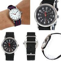 TIMEX/ナイロンベルトアナログ腕時計