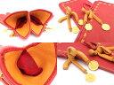 エルメス HERMES ファッション小物 ロゴ レザーグローブ オレンジ レザーx金属素材 グローブ 手袋 レディース【中古】【定番人気】 - e29382
