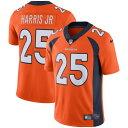 ショッピングLimited ナイキ メンズ シャツ トップス Chris Harris Jr Denver Broncos Nike Vapor Untouchable Limited Jersey Orange