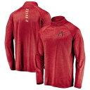 ショッピングETC マジェスティック メンズ ジャケット&ブルゾン アウター Arizona Diamondbacks Majestic Contenders Welcome Quarter-Zip Mock Neck Pullover Jacket Cardinal