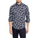 ショッピングPSP ストーンローズ メンズ シャツ トップス Stone Rose Regular Fit Floral Button-Up Sport Shirt Black