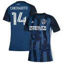 ショッピングGALAXY アディダス レディース ユニフォーム トップス Chicharito LA Galaxy adidas Women's 2020 Secondary Replica Player Jersey Navy