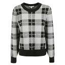 マイケルコース レディース ニット&セーター アウター Michael Kors Checked Sweater -