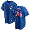 ショッピングikea ナイキ メンズ シャツ トップス Chicago Cubs Nike Alternate 2020 Replica Custom Jersey Royal