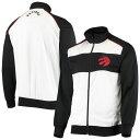 ショッピングホワイト カールバンクス メンズ ジャケット&ブルゾン アウター Toronto Raptors G-III Sports by Carl Banks Layup Full-Zip Track Jacket White/Black