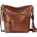 ショッピングウエストポーチ ザサック レディース ボディバッグ・ウエストポーチ バッグ Ashland Crossbody Teak Leaf Embossed Leather