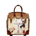 Women'S Bag - ニコルリー レディース ボストンバッグ バッグ Fiona Rolling Business Tote, Special Print Edition 27980