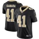 ショッピングLimited ナイキ メンズ シャツ トップス Alvin Kamara New Orleans Saints Nike NFL 100 Vapor Limited Jersey Black