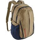 ショッピングパック パタゴニア メンズ バックパック・リュックサック バッグ Patagonia Refugio 28L Backpack MojaveKhaki/ClassicNavy