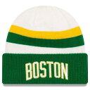 ショッピングEDITION ニューエラ メンズ 帽子 アクセサリー Boston Celtics New Era 2018 City Edition Cuffed Knit Hat White