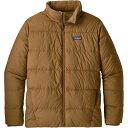 ショッピングpatagonia パタゴニア メンズ ジャケット&ブルゾン アウター Patagonia Men's Silent Down Jacket Nest Brown