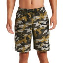 ショッピング靴下 ナイキ メンズ 水着 水着 Nike Men's Camo Volley Swim Trunks MediumOlive