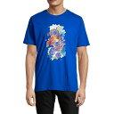 ショッピングハム ロバートグラハム メンズ ポロシャツ トップス Demopolis Graphic T-Shirt COBALT