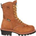 ショッピングゴアテックス ジョージアブーツ メンズ ブーツ&レインブーツ シューズ Georgia Boot Men's Logger 400g GORE-TEX Steel Toe Work Boots Brown