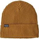 ショッピングpatagonia パタゴニア メンズ 帽子 アクセサリー Patagonia Men's Fishermans Rolled Beanie Buckwheat Gold