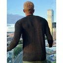 プルアンドベア メンズ パーカー・スウェットシャツ アウター Pull&Bear turtleneck sweater in gray Gray