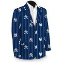 ショッピングマウス ラウドマウス メンズ ジャケット&ブルゾン アウター New York Yankees Loudmouth Sport Coat Navy
