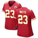 ショッピングNIKE ナイキ レディース シャツ トップス Kansas City Chiefs Nike Women's Custom Game Jersey Red