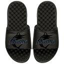 ショッピングサンダル アイスライド メンズ サンダル シューズ Miami Marlins ISlide MLB Tonal Pop Slide Sandals Black