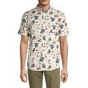 イズキール メンズ シャツ トップス Islander Regular-Fit Shirt BONE