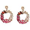 ショッピングiface ジェイクルー レディース ピアス&イヤリング アクセサリー Multi Facet Glitz Earrings Soft Azalea