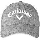 ショッピングキャロウェイ キャラウェイ メンズ 帽子 アクセサリー Callaway Men's Performance Pro Golf Hat HeatherGrey
