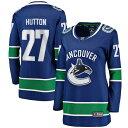 ショッピングis03 ファナティクス レディース シャツ トップス Ben Hutton Vancouver Canucks Fanatics Branded Women's Home Breakaway Player Jersey Blue