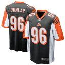 ショッピングナイキ ナイキ メンズ シャツ トップス Carlos Dunlap Cincinnati Bengals Nike Game Jersey Black