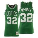 ショッピングWING ミッチェル&ネス メンズ ユニフォーム トップス Men's Kevin McHale Boston Celtics Hardwood Classic Swingman Jersey Green/White