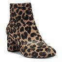 ショッピングレディース サンダル アイエヌシーインターナショナルコンセプト レディース ブーツ&レインブーツ シューズ I.N.C. Women's Farren Booties, Created for Macy's Dark Leopard