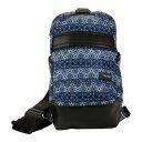 ショッピングバック ハダキ レディース バックパック・リュックサック バッグ Urban Sling Bag (Women's) Grid